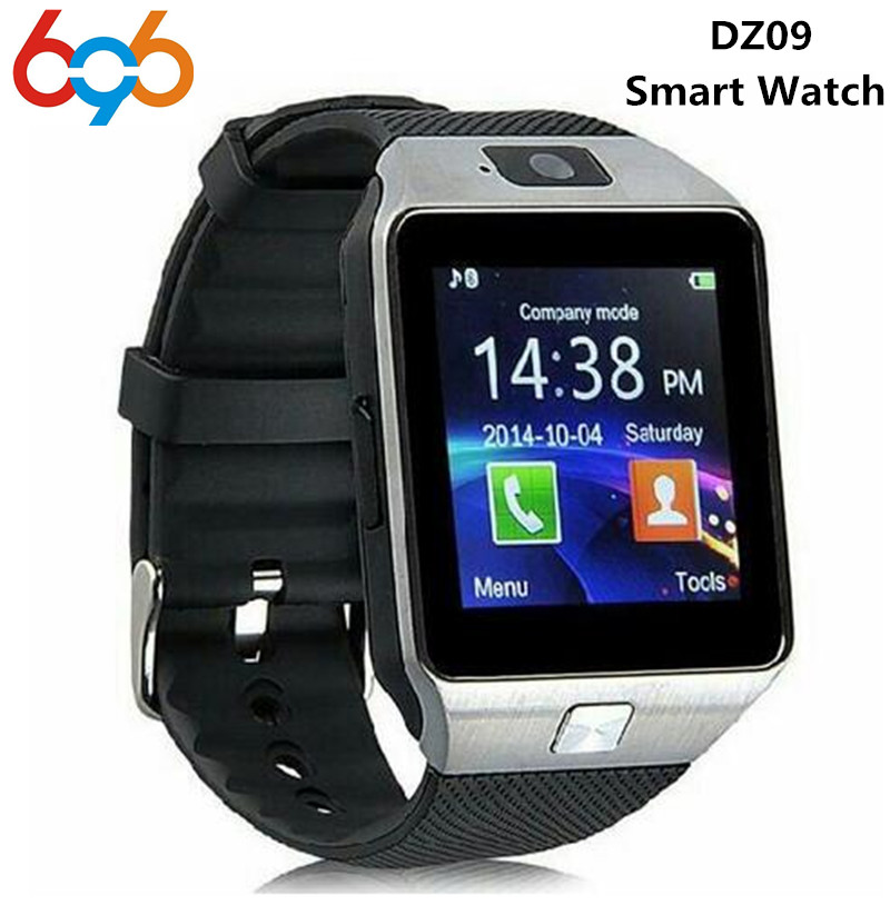 696 Smart Watch DZ09 Digital Wrist with Men Bluetooth Electronics SIM Card Sport Smartwatch For iPhone Samsung Android Phone