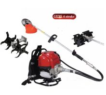 Gx35 Backpack 4 stroke cultivator tiller lawn mower hedge trimmer Brush cutter Weeder Cutter