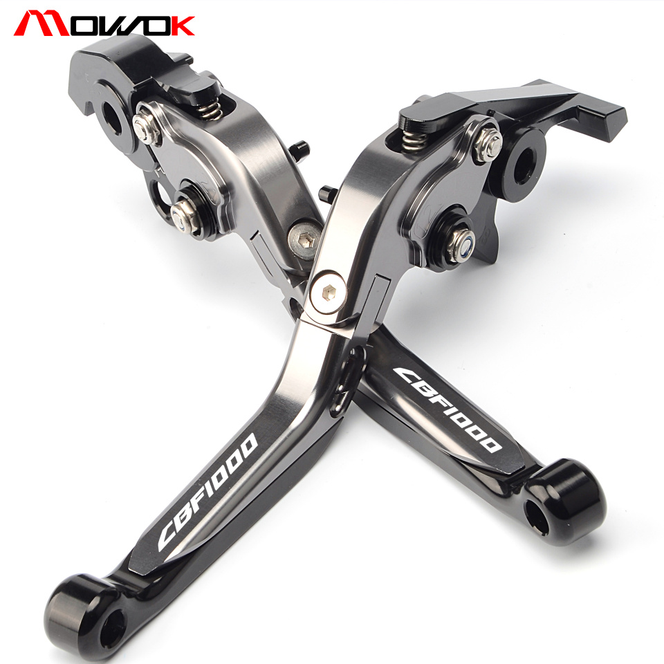 For <font><b>HONDA</b></font> <font><b>CBF1000</b></font> CBF1000A CBF 1000 1000A 2010 2011 2012 2013 Motorcycle CNC Adjustable Aluminum Brake Clutch Levers image