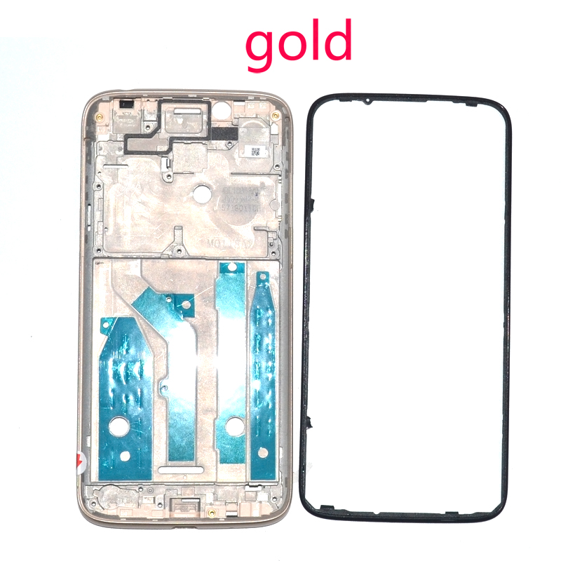 Image 3 - Wholesale Original For Motorola Moto G7 play XT1952 2 LCD metal Plate Frame + Middle Bezel Front Frame full housing parts-in Mobile Phone Housings & Frames from Cellphones & Telecommunications