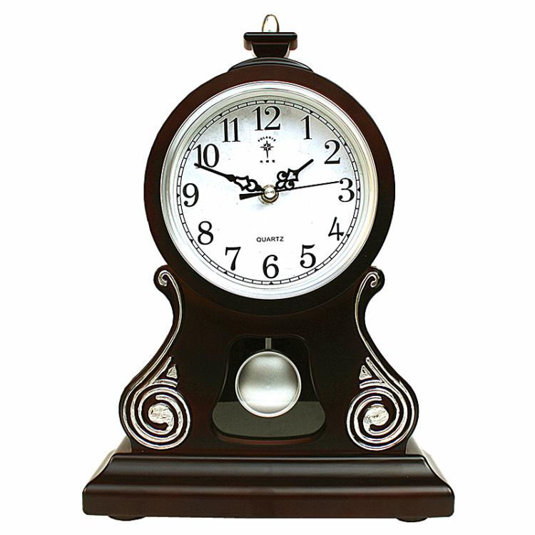 Ora e Tabelës Orë Vintage Klasike Klasike, Salla e Uljes TV Kabinet - Dekor në shtëpi - Foto 4