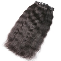 9A Prom Queen Hair Raw Indian Virgin Hair Bundles Grade 9A Indian Natural Straight Hair Extension 1 3 4 P/Lots Free Shipping