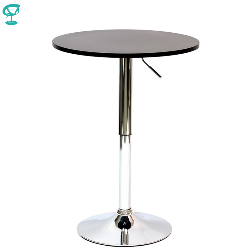 94918 Barneo T-2 MDF High Breakfast Interior Table Bar Table Kitchen Furniture Dining Table Black Free Shipping In Russia