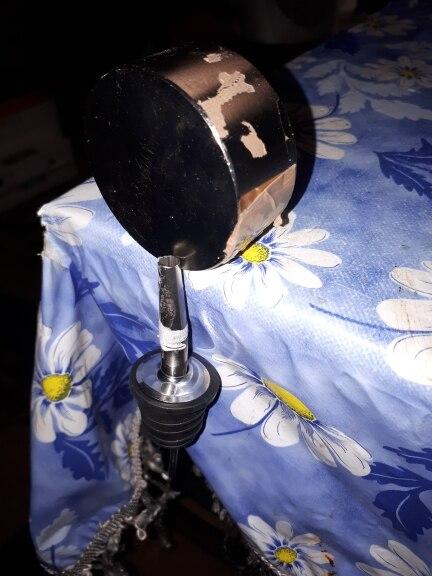 2 шт. Горячая нержавеющей стали вино, оливковое масло Pourer Диспенсер носик Стекло бутылка pourer черный HQ