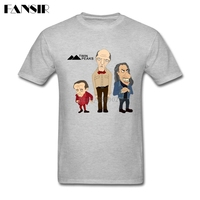 Over Size Twin Peaks American TV Show Classical T Shirts For Men Short Sleeve Cotton Custom