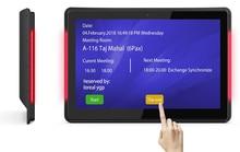 10,1 дюймов Android PoE настенный планшет с светодиодный бары для конференц-связи (с двумя камерами, процессор Rockchip 3288,2 ГБ/8 ГБ Wi-Fi, RJ45, bluetooth)