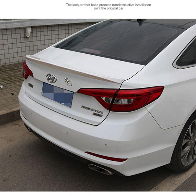 Hyundai Sonata 2015 Review: For Hyundai Sonata 2014 2015 2016 ABS Plastic Tail Trunk