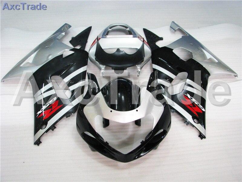 Комплекты мотоцикл Обтекатели для Suzuki GSXR системы GSX-Р 600 750 GSXR600 GSXR750 2001 2002 2003 К1 пластичной Впрыски ABS обтекатель комплект A273