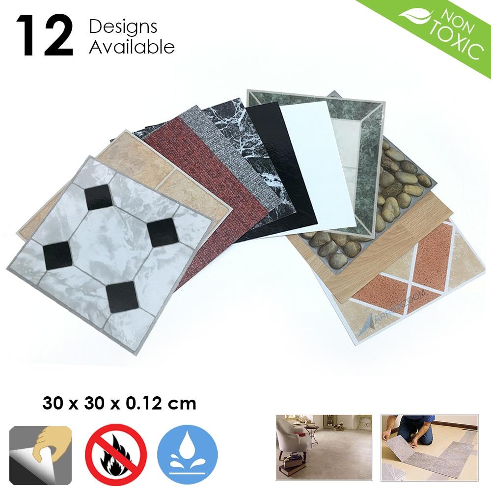 autoadhesivo adhesivo 3D Adhesivo decorativo para pared con dise/ño de azulejos de fondo de cocina 5 hojas 30,5 x 30,5 cm
