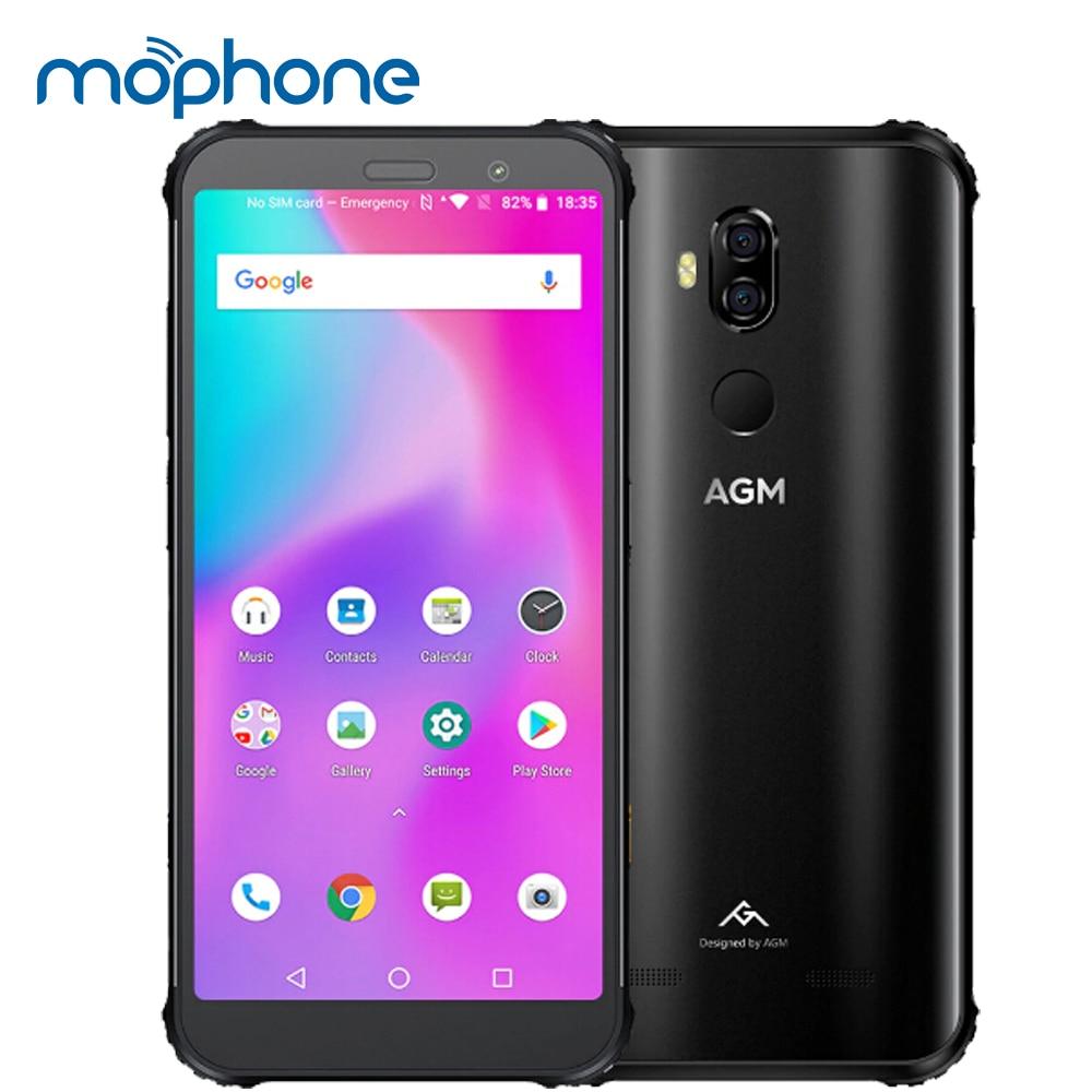 "AGM X3 ทนทาน 4G 8/6GB + 256/128/64GB โทรศัพท์มือถือกันน้ำ 5.99 ""Qualcomm 845 Octa core ลายนิ้วมือ Type C ชาร์จไร้สาย-ใน โทรศัพท์มือถือ จาก โทรศัพท์มือถือและการสื่อสารระยะไกล บน AliExpress - 11.11_สิบเอ็ด สิบเอ็ดวันคนโสด 1"