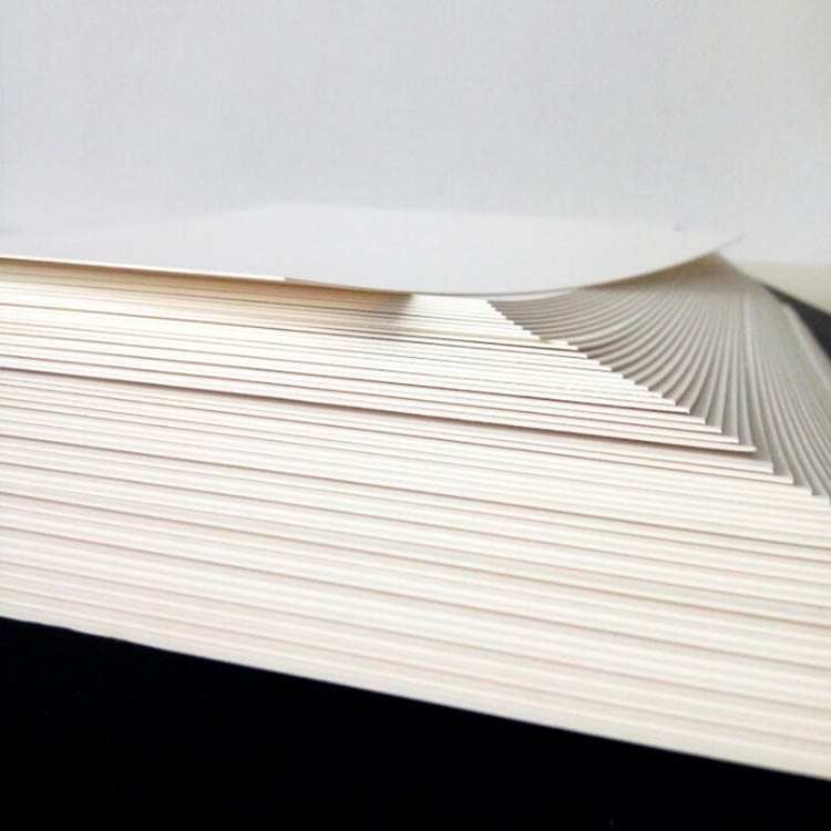 Купить с кэшбэком 50pcs/lot A3 A4 A5 White Kraft Paper DIY Card Making 120g 180g 230g 300g 400g Craft Paper Thick Paperboard Cardboard