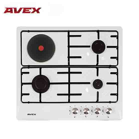 Built in cooktop gas  AVEX  NS 6030 W aroma induction cooktop