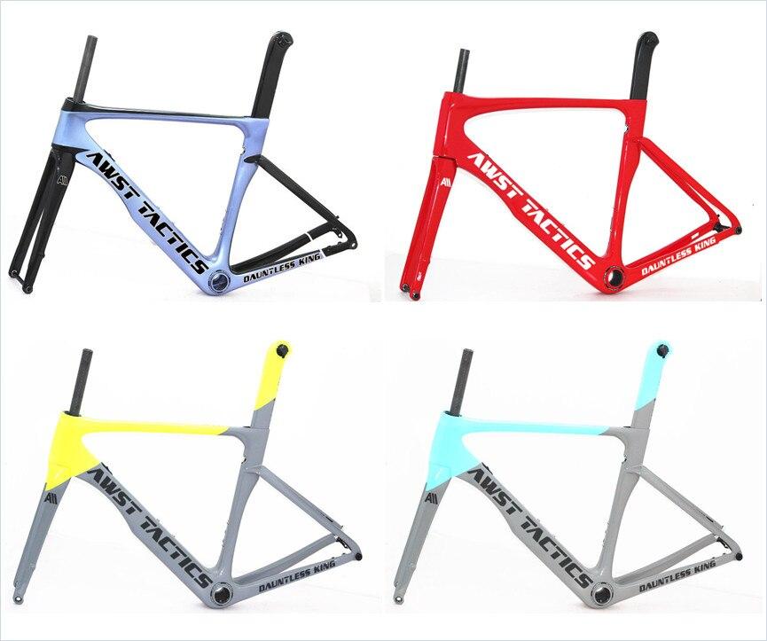 100*12 / 142*12 Disc Brake Frame Carbon Road Full Carbon Road Frame Disc Brake Bicycle Frame Thru Axle Mount BB86