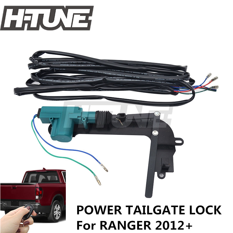 js 4x4 Automatically Power Tailgate Security Lock For RANGER 2012