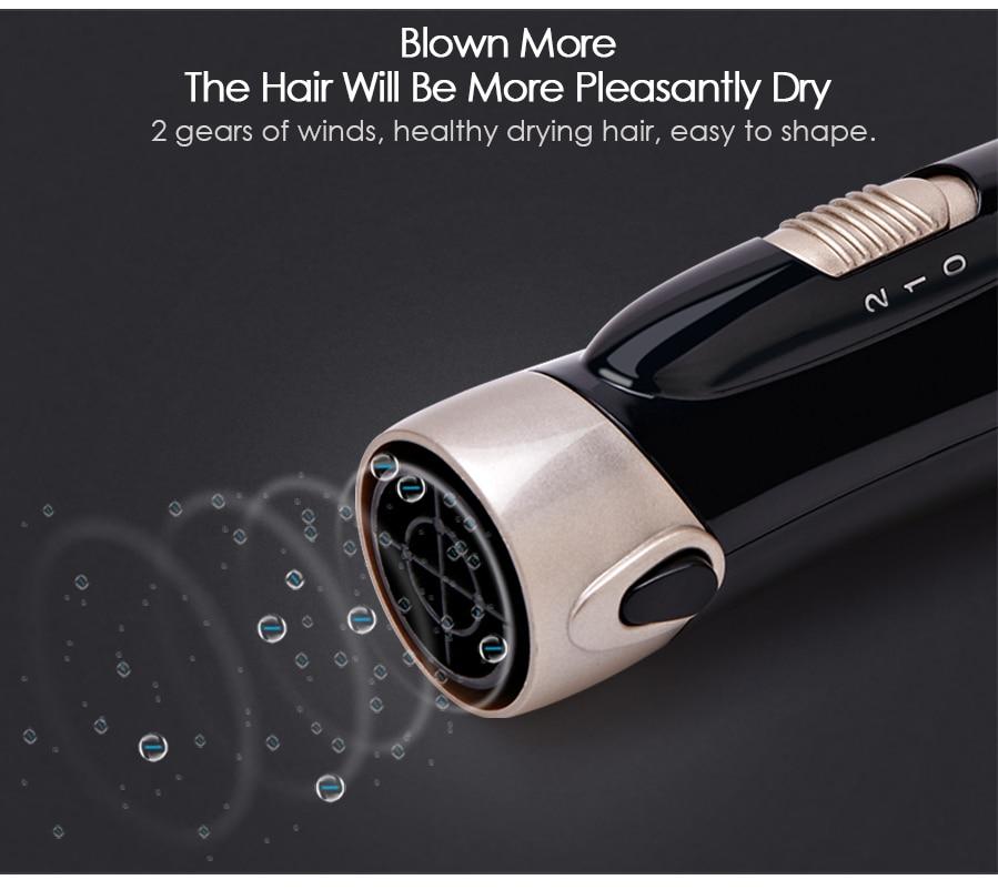 1 ferramentas estilo do cabelo profissional multifuncional