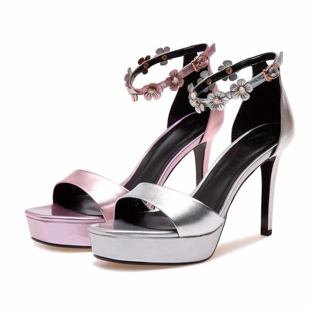 Genuino Verano Correa De Abierta Cm Para Stilettos Plata Zapatos Furtado Pink Cuero 10 Punta silver 2018 Rosa Tacones Sandalias Arden Mujer Altos Nuevos Tobillo w7vOEnqA