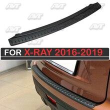 Защитная накладка заднего бампера для Lada X-Ray 2016-2019 автомобильный Стайлинг украшения крышка Наружные защитные аксессуары
