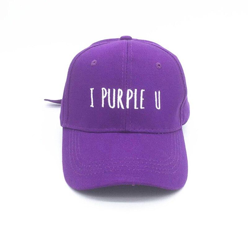 Pkorli Kpop BTS V   Baseball     Cap   Letter Embroidery I PURPLE U Purple Hat Unisex Adjustable Kim Tae Hyun   Caps