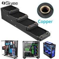 120/240/360/480MM Water Cooling Cooler Copper Radiator Heat Sink Part Exchanger Cooler CPU Heatsink For Laptop Desktop Computer