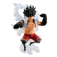 Original Banpresto One piece OP King of Artist the Snakeman Monkey D Luffy PVC action figures model Figurals Brinquedos