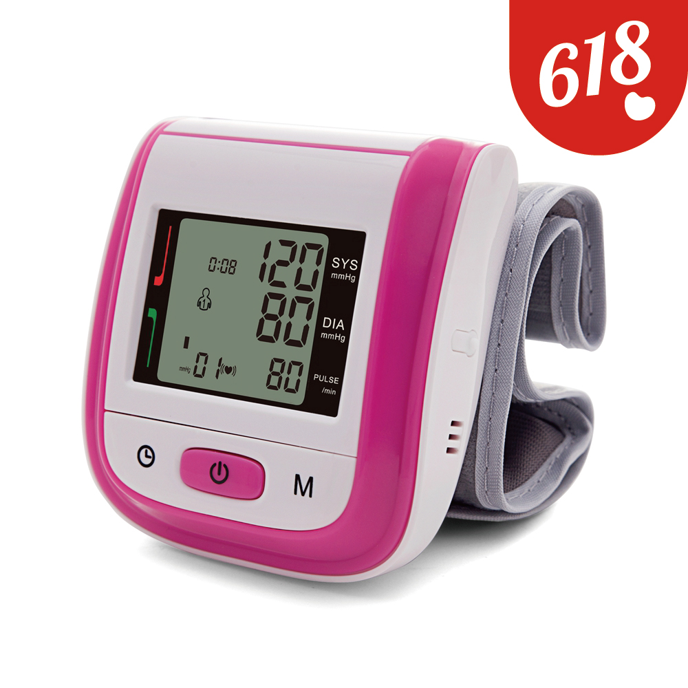 Yongrow Multi-color Wrist Blood Pressure Monitor FDA Certification Medical Blood Pressure Monitor With Health Care abpm50 ce fda approved 24 hours patient monitor ambulatory automatic blood pressure nibp holter with usb cable