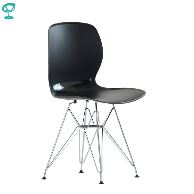 N12014Black Barneo N-12014 Plastic Wood Kitchen Interior Stool Dining Chair Kitchen Furniture Black Free Shipping In Russia