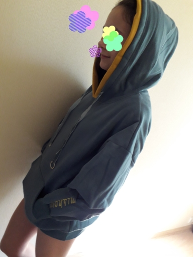 Winter solid thick pullovers loose Women Slim letter print Harajuku hooded Casual Hoodies Sweatshirt photo review