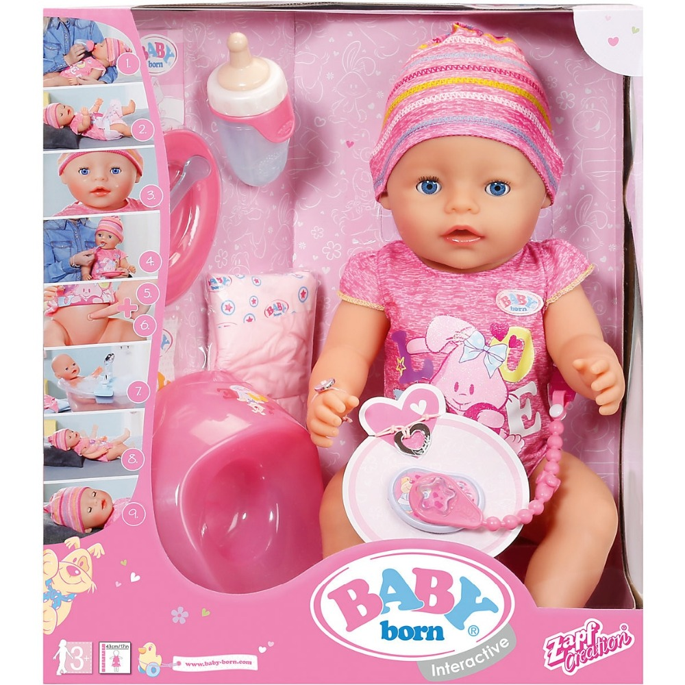 Muñecas ZAPF creación 5029245 juguetes muñeca de trapo Bliss Reborn Kids for girls boys bebé anabell born