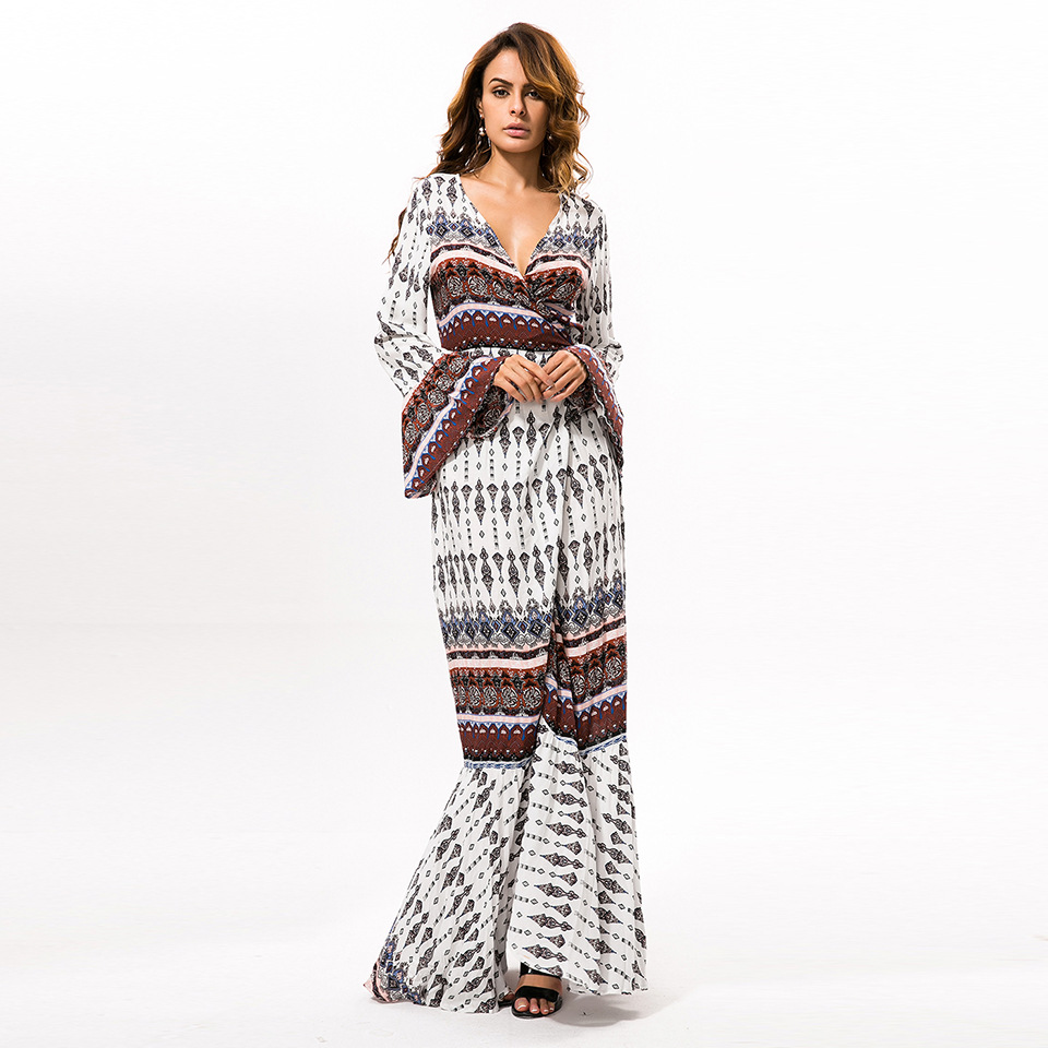 Explosion models bohemian long dress for women beach cover dress wholesale
