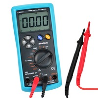 True RMS Multimeter AC&DC Current Voltage Resistance Capacitance Diode Temperature Duty Cycle USB Interface Meter Digital Tester