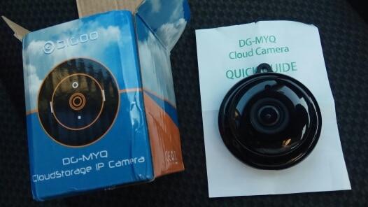 Câmeras de vigilância Noturna Monitor Câmera