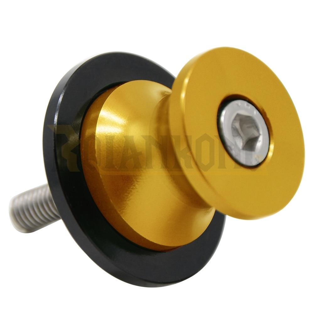 motorcycle accessories parts for yamaha MT-03 MT03 MT 03 2006 - 2015 2016 Swingarm Spool Sliders 6mm swing arm Spools Sliders
