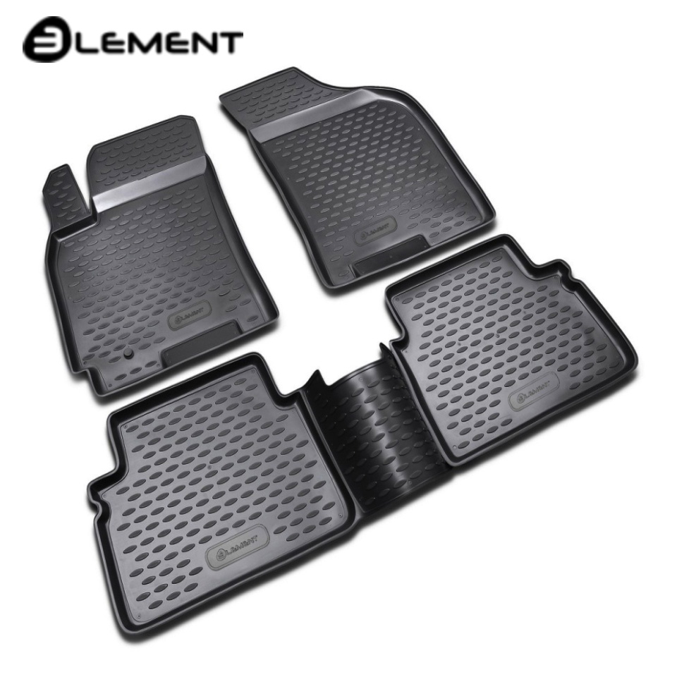 Per Chevrolet Lacetti tappetini in saloon 4 pz/set Elemento NLC0805210K