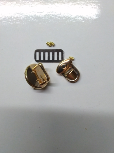 Lock Metal Clasp Turn Lock Round Shape Twist Lock for DIY Handbag Bag Purse Hardware 2019 New Hot Bag Accessories photo review