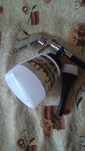 Pistola de água e lança-espuma de neve Lavagem Máquina Limpeza