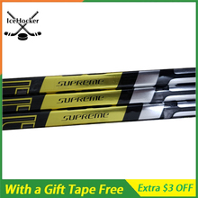 [3 Pack] High Quality Ice Hockey Stick Supreme 2 S Carbon Fiber with a Free Tape New Style with Grip Senior Full lightweight