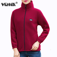 8 Colors Women Fleece Jackets Coats sportswear Stand Collar Womens Warm Faux Lam
