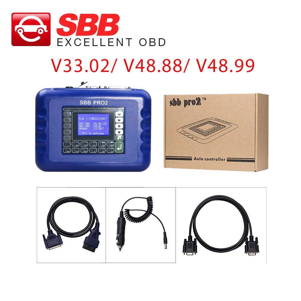 SBB Key Programmer SBB V33 02 SBB PRO2 V48 88 V48 99 SBB Silca Immobilizer Copy