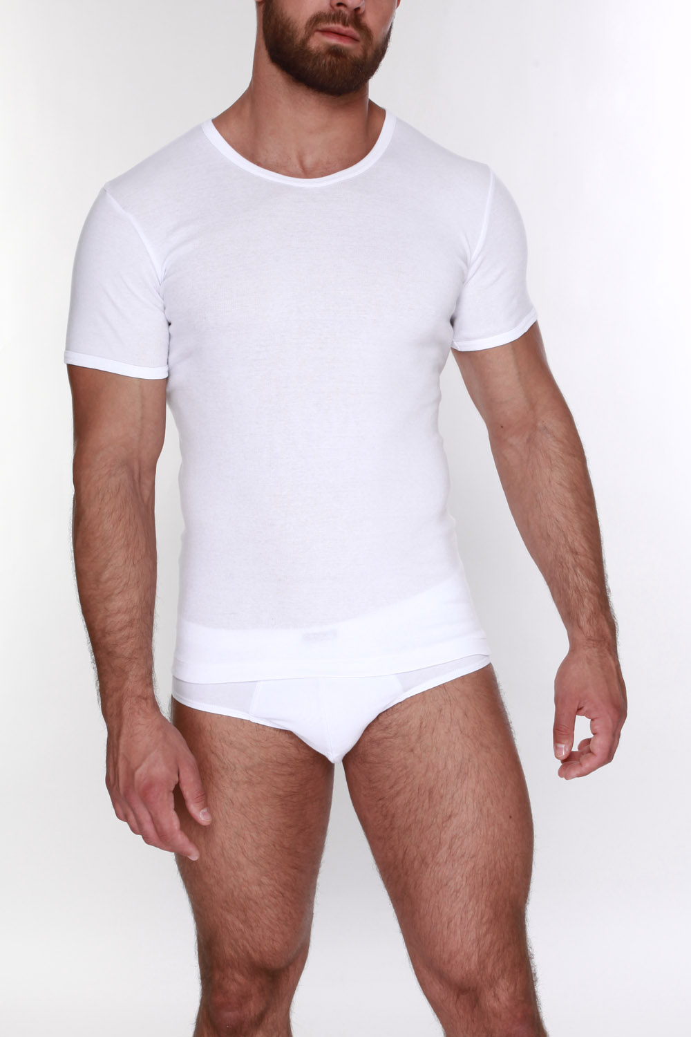 T-Shirts TORRO TMF503N White Cotton solid color men underwear TmallFS free shipping 6 pcs motorcycle front