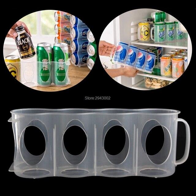 bier soda kann halter aufbewahrung k che organisation k hlschrank rack kunststoff raum in bier. Black Bedroom Furniture Sets. Home Design Ideas
