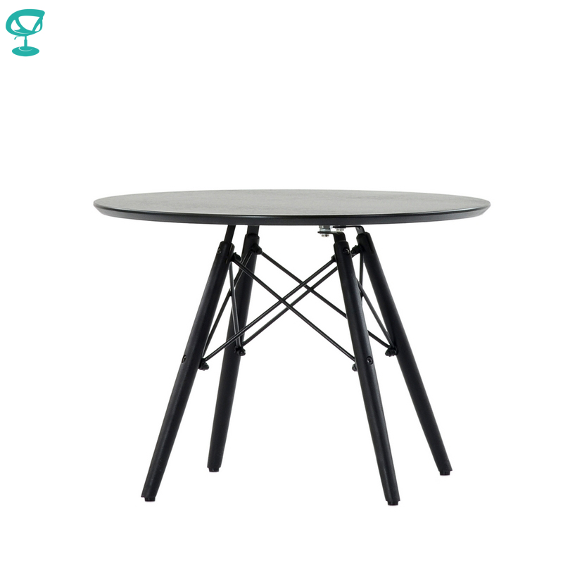TN12Black Barneo TN-12 Veneer Interior Coffee Table For Rest Table Furniture Dining Table Color Black Free Shipping In Russia