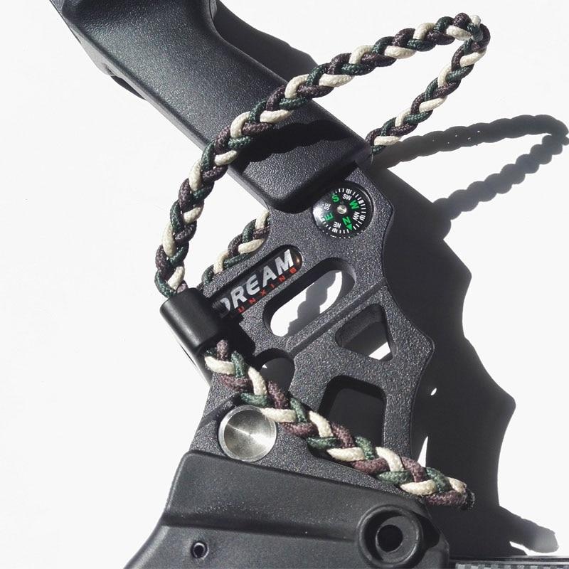 Compound Boog Sling Boogschieten Gevlochten en Metalen Compound - Jacht