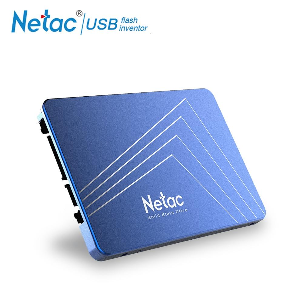 Netac SSD 240 GB 120GB 480GB 2.5'' SSD Hard Drive 60GB 120 480 GB 240GB Sata Internal Solid State Drive Disk For Laptop Computer аксессуар greenbean gb sl 120