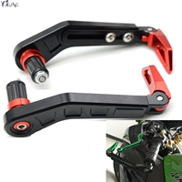 Universal 7 8 22mm Motorcycle Handlebar Brake Clutch Lever Protect Guard For TRIUMPH SPEED FOUR TRIPLE