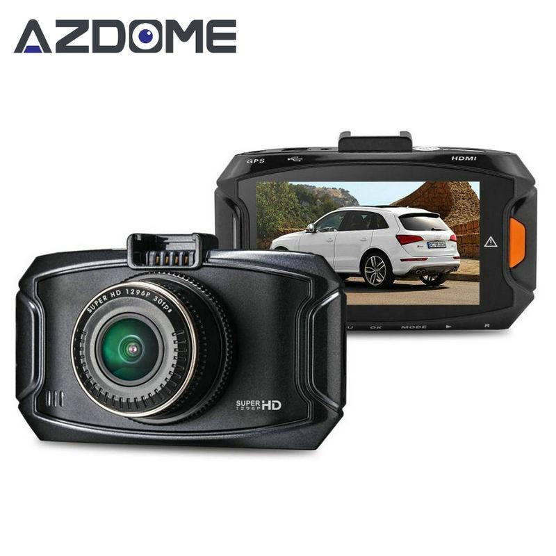 Azdome GS90C Car Camera Ambarella A7LA70 Chipset Car DVR FHD 1080P 60fps 2.7lcd HDR G-sensor GPS Video Recorder Dash Cam H20