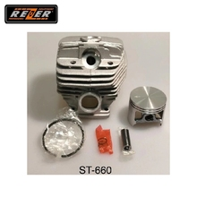 Цилиндр с поршнем ST-660 Rezer для бензопилы