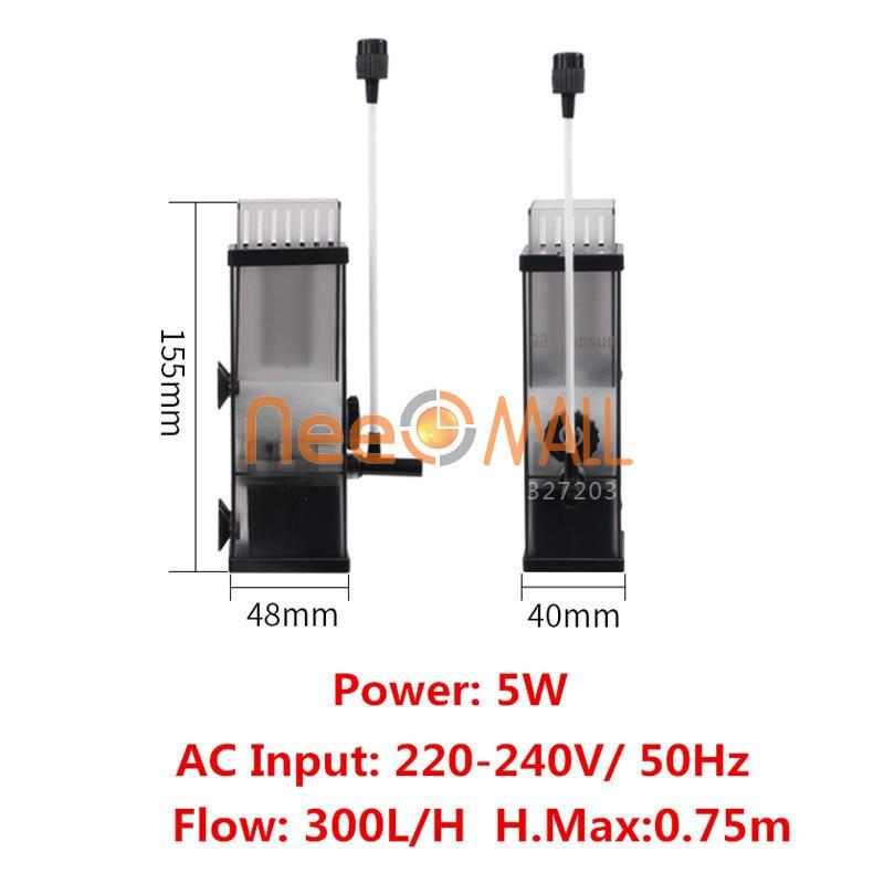 Aquarium Pump Surface Skimmer To Remove Oil Slick Oil Film Remover Water Protein Skimmer Pump For Fish Tank Water Filter Pum