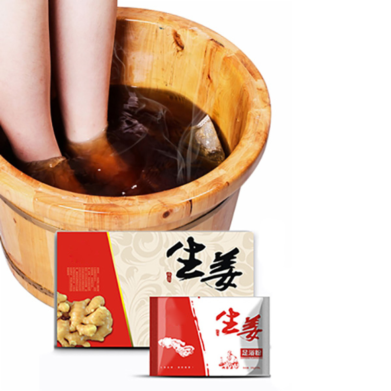 300g Ginger Foot Bath Powder Chinese Herbal Bag Foot Bath Spa Bubble Foot Clearing Damp 100% Natural Plants Ginger Extract 100% organic natural high quality best grape extract naringin 300g