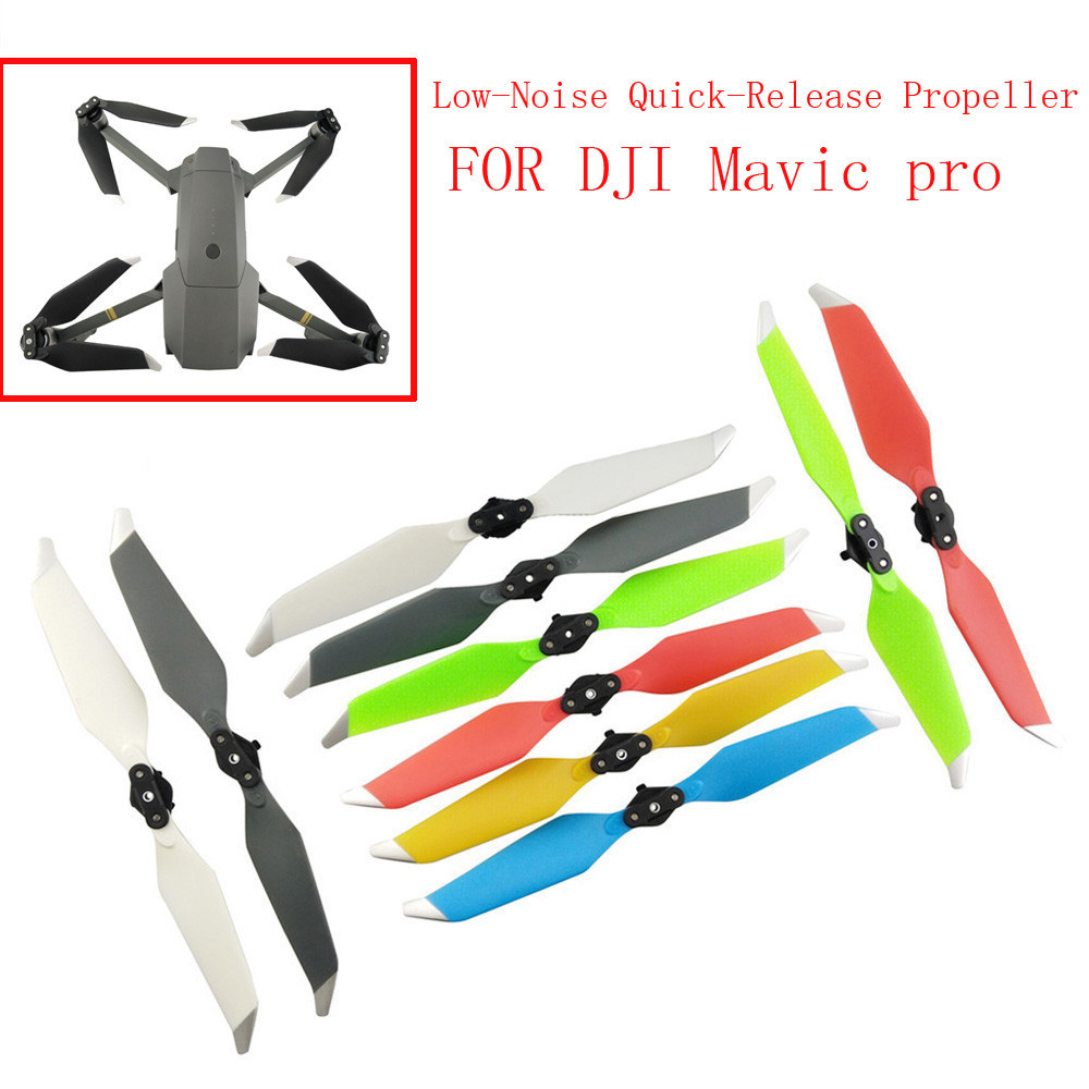 4PC 8331F Folding Low-Noise Quick-Release Propellers For DJI Mavic PRO Accessories drop shipping 1810 free shipping