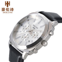 Auto Date Men watches HOLUNS Luxury Fashion Quartz Business Sport Wristwatch Classic Water Resistant Chronograph Clock